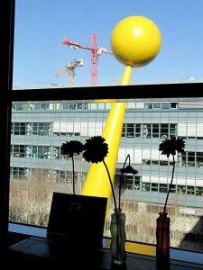Ausblick aus meinem Büro Unter den Linden 50