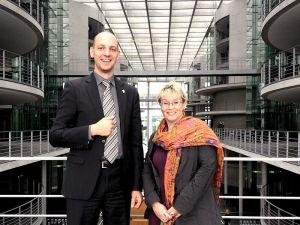 Gabriela Heinrich und Andreas Wagener