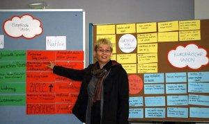 Gabriela Heinrich in der Berufsschule 6
