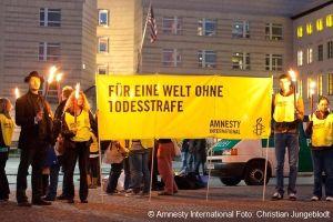 Amnesty Aktion gegen Todesstrafe