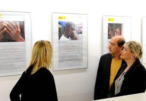 """Amnesty-Ausstellung im Nürnberger Heilig-Geist-Spital """"Ist das Boot zu voll?"""""""