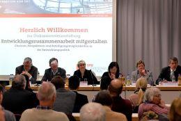 Fraktion-vor-Ort Entwicklungszusammenarbeit mitgestalten Podium
