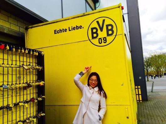 Jiayan Chen in Dortmund
