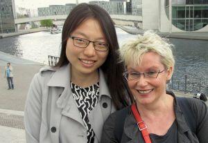 Jiayan Chen und Gabriela Heinrich