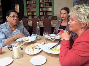 Aussenministerin Madagaskars und Gabriela Heinrich
