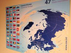 Die Mitgliedstaaten des Europarats