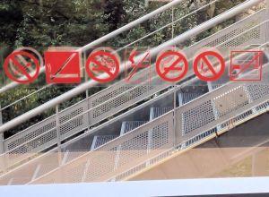Internationale Nichtrauchersymbole