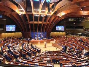 Plenum der Parlamentarischen Versammlung des Europarates