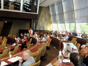 Sitzung der Socialist Group bei der Parlamentarischen Versammlung des Europarats