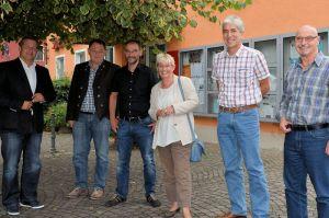 Besuch von Gabriela Heinrich und Carsten Träger in Vorra