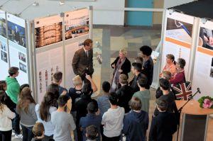 Eröffnung der Wanderausstellung des Bundestags im Sigena-Gymnasium Nürnberg