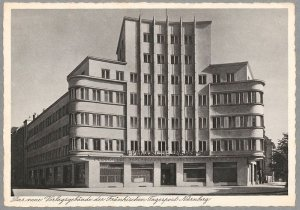 Karl-Bröger-Haus Postkarte aus dem Jahr 1930