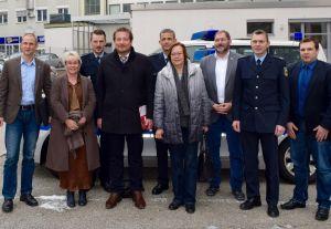 Besuch von Gabriela Heinrich bei der Bundespolizei Nürnberg