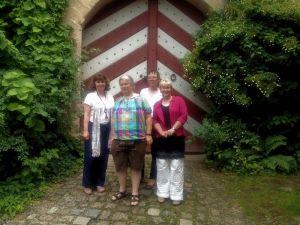Martina Stamm-Fibich, Rotraut von Stromer-Baumbauer, Karin Windisch, Gabriela Heinrich