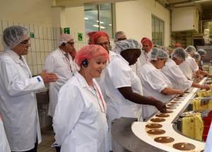 In der Lebkuchenfabrik