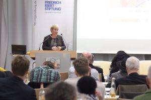 Gabriela Heinrich FES-Veranstaltung Wie stärken wir Afrika