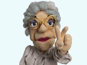 "Tante Lieselotte - ""die alte Tante SPD"""
