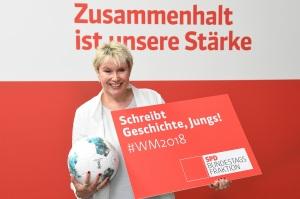 Gabriela Heinrich vor der Fußball-WM